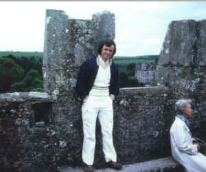 Marty at Blarney Castle 1973