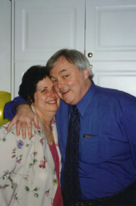 Ma and Pa on their 25th Wedding Anniversary