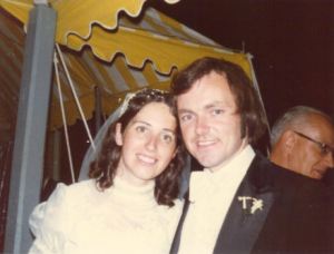 Marty and Mary Anne Murphy - August 30 1974