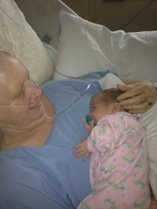Mary Anne Murphy & new granddaughter