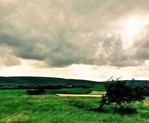 temperamental weather in the Lake District