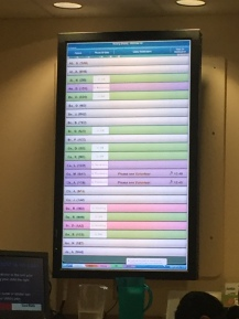 the waiting room/airport screen