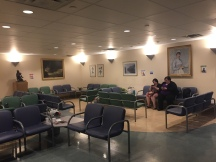 last call once again in the waiting room